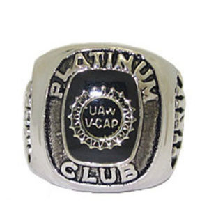 UNITED AUTO WORKERS  RING SIZES 4-15 NWT